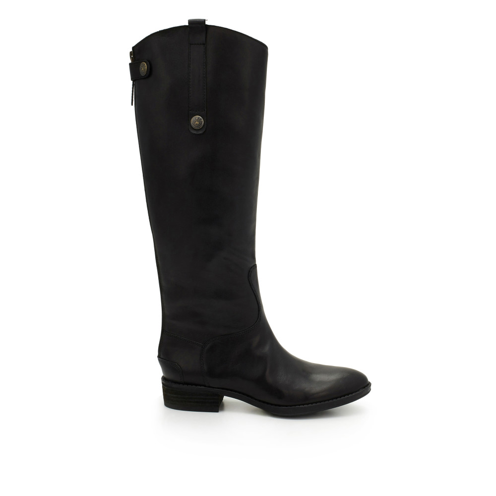 Penny2 Wide Calf Leather Riding Boot - Boots | SamEdelman.com