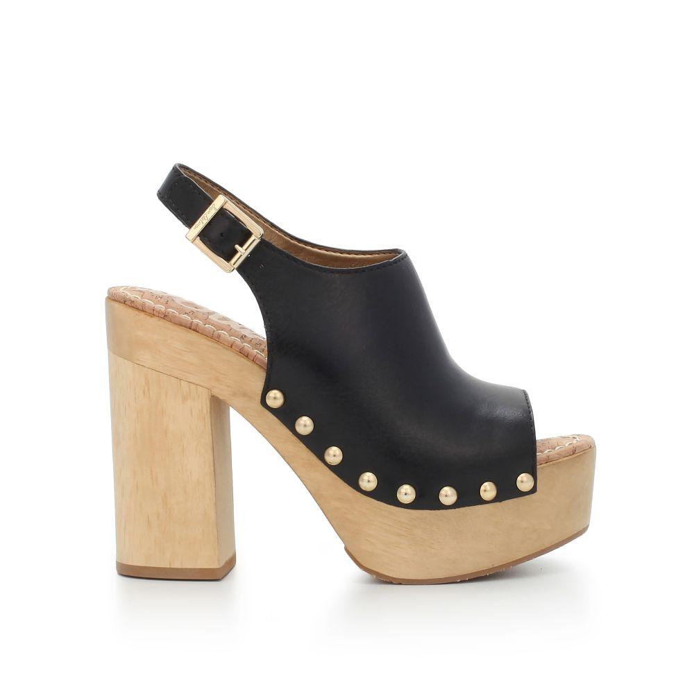 Marley Wooden Platform Heel - Heels | SamEdelman.com