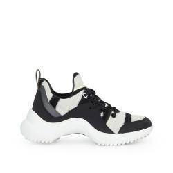 66e2dfdd982e Meena Sneaker by Sam Edelman - BlackIvory Fabric