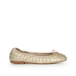 96e1c0f4ac1246 Fanley Ballet Flat by Sam Edelman - Gold Leather