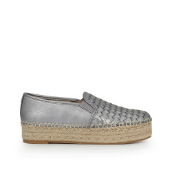 4cbf7a644 Catherine Platform Espadrille by Sam Edelman - Pewter Leather