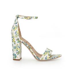 6370ca13bdd Yaro Block Heel Sandal by Sam Edelman - White Multi Floral