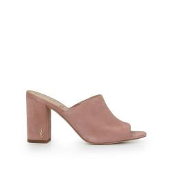 0ea5ace00d1 Orlie Block Heel Mule by Sam Edelman - Pink Suede