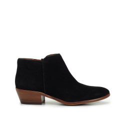 Petty Ankle Bootie by Sam Edelman - Black Suede
