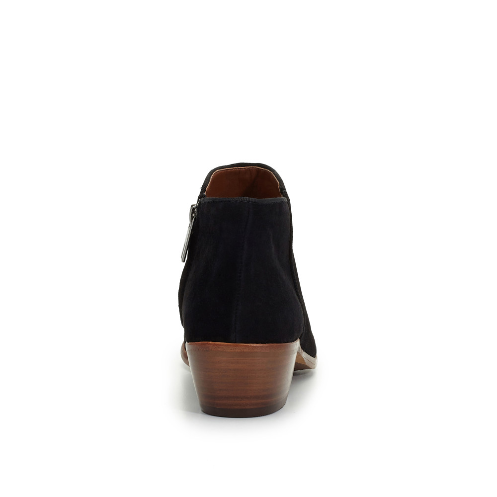Petty Ankle Bootie Boots D Island Shoes Moccasine Slip On Lacoste Suede Black
