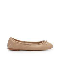 Felicia Ballet Flat by Sam Edelman - Classic Nude Leather