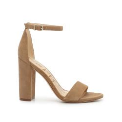 96427b7c955 Yaro Block Heel Sandal by Sam Edelman - Oatmeal Suede