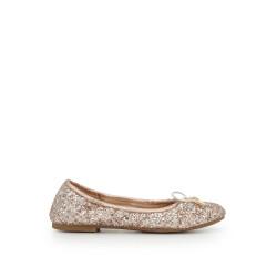 feeeec41f27515 Girls Felicia Ballet Flat by Sam Edelman - Light Pink Glitter