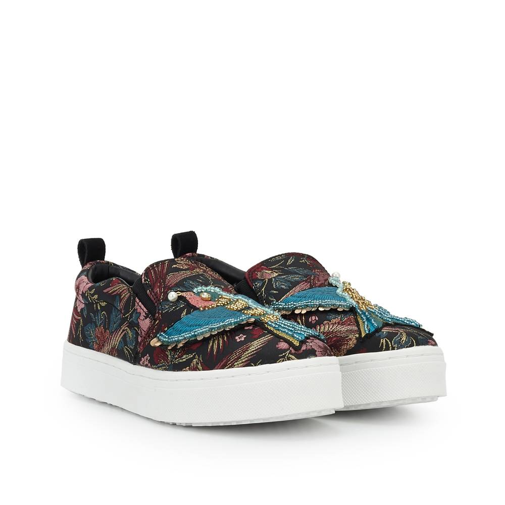 Leila Embellished Slip-On Sneaker buy cheap finishline buy cheap release dates clearance sneakernews clearance purchase with credit card sale online YiJePhc