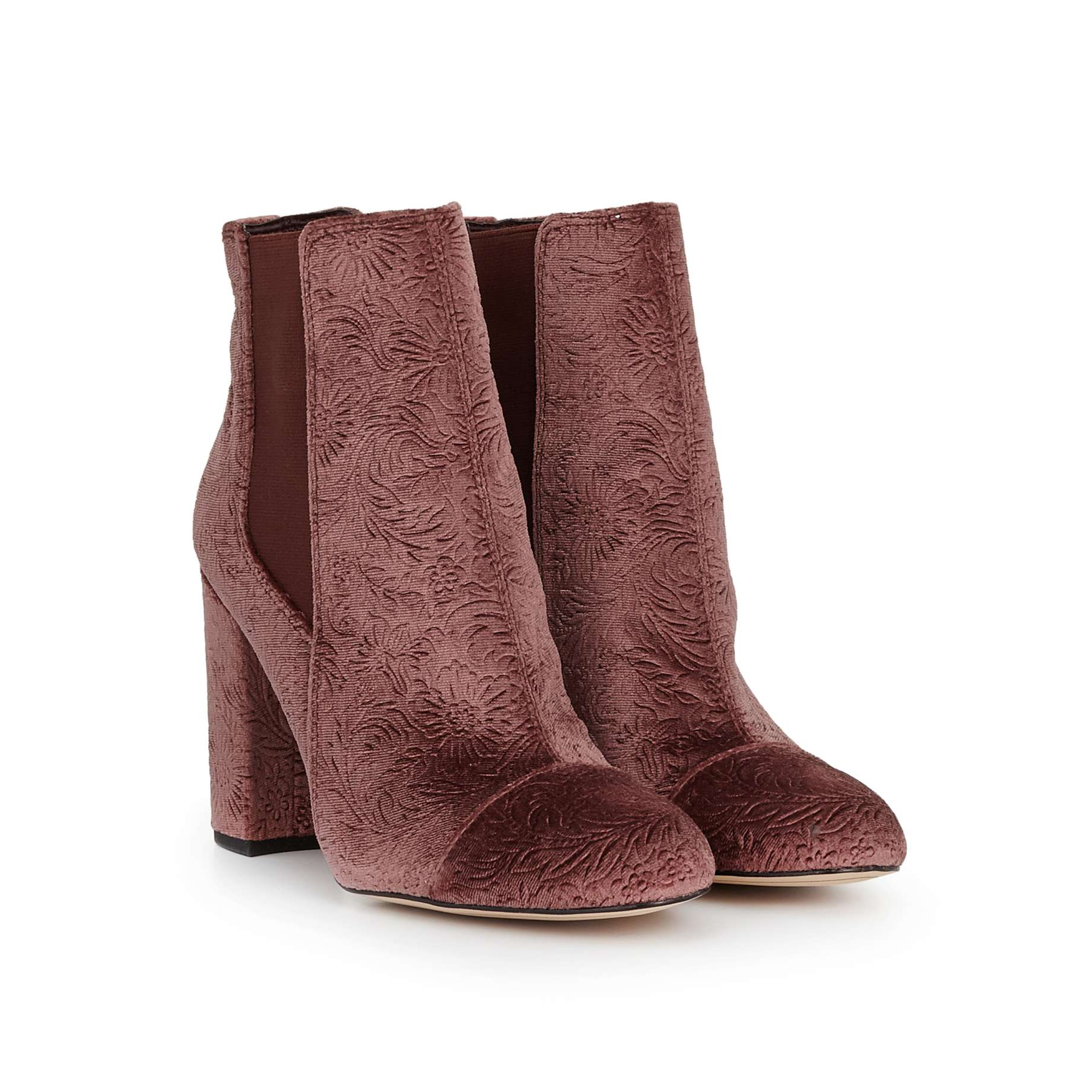 Case Ankle Bootie Boots D Island Shoes Chukka Slip On Dark Brown Leather By Sam Edelman View 1