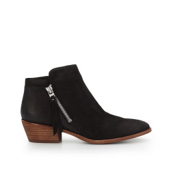 0ae0584db25 Packer Ankle Bootie by Sam Edelman - Black Leather