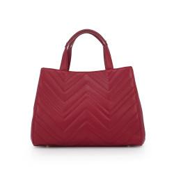 c2ee3b7665e Gianna Tote by Sam Edelman - Pink Garnet Leather