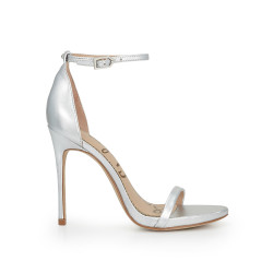 Ariella Ankle Strap Sandal by Sam Edelman - Silver Leather e972ad69c7