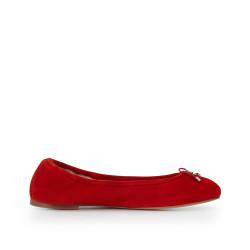 c1a72785edde32 Felicia Ballet Flat by Sam Edelman - Candy Red Suede