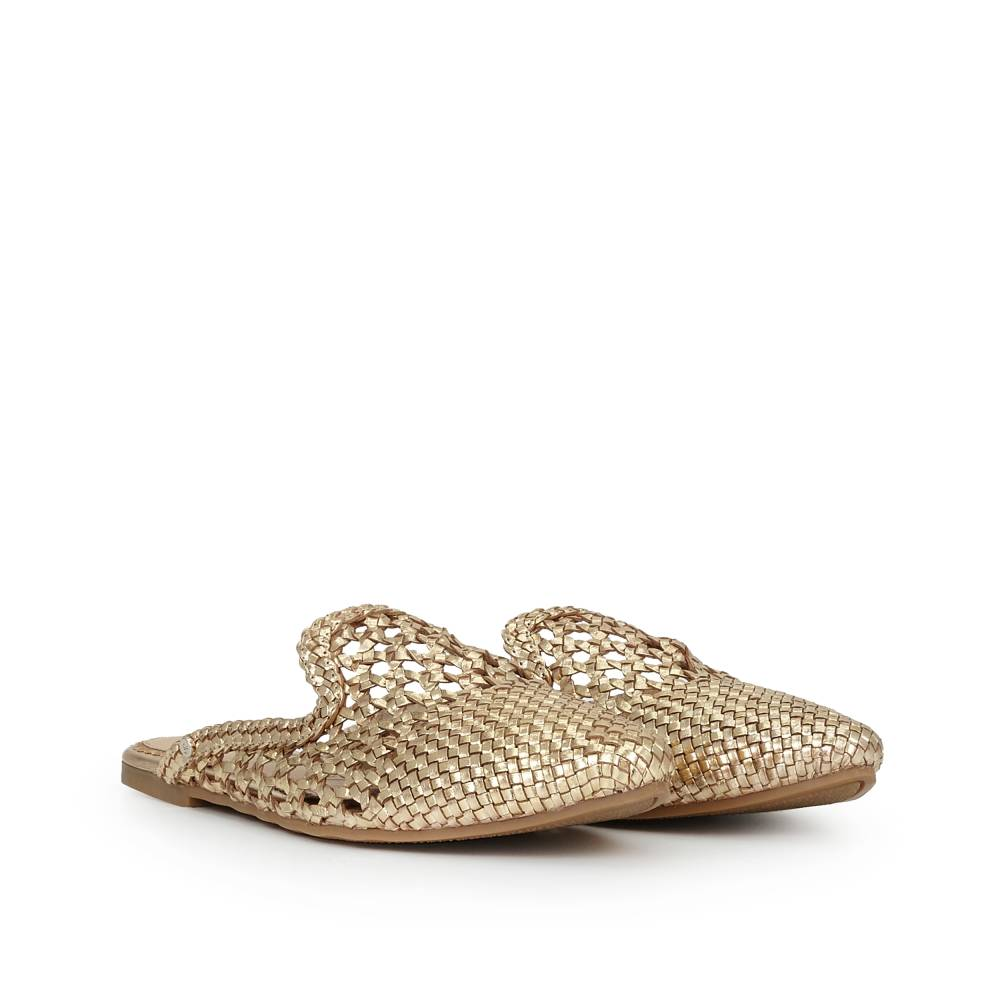 Navya Slipper Flats D Island Shoes Casual Slip On England Suede Brown Tap To Zoom