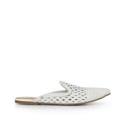 8fea25e452b42 Navya Slipper by Sam Edelman - White Leather