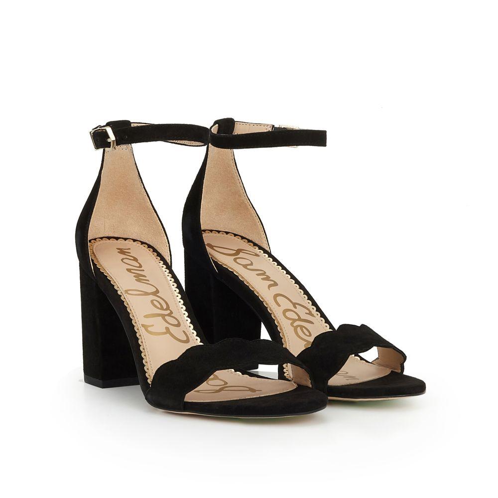 Sam Edelman Women's Odila Suede Block Heel Sandals diTH4D