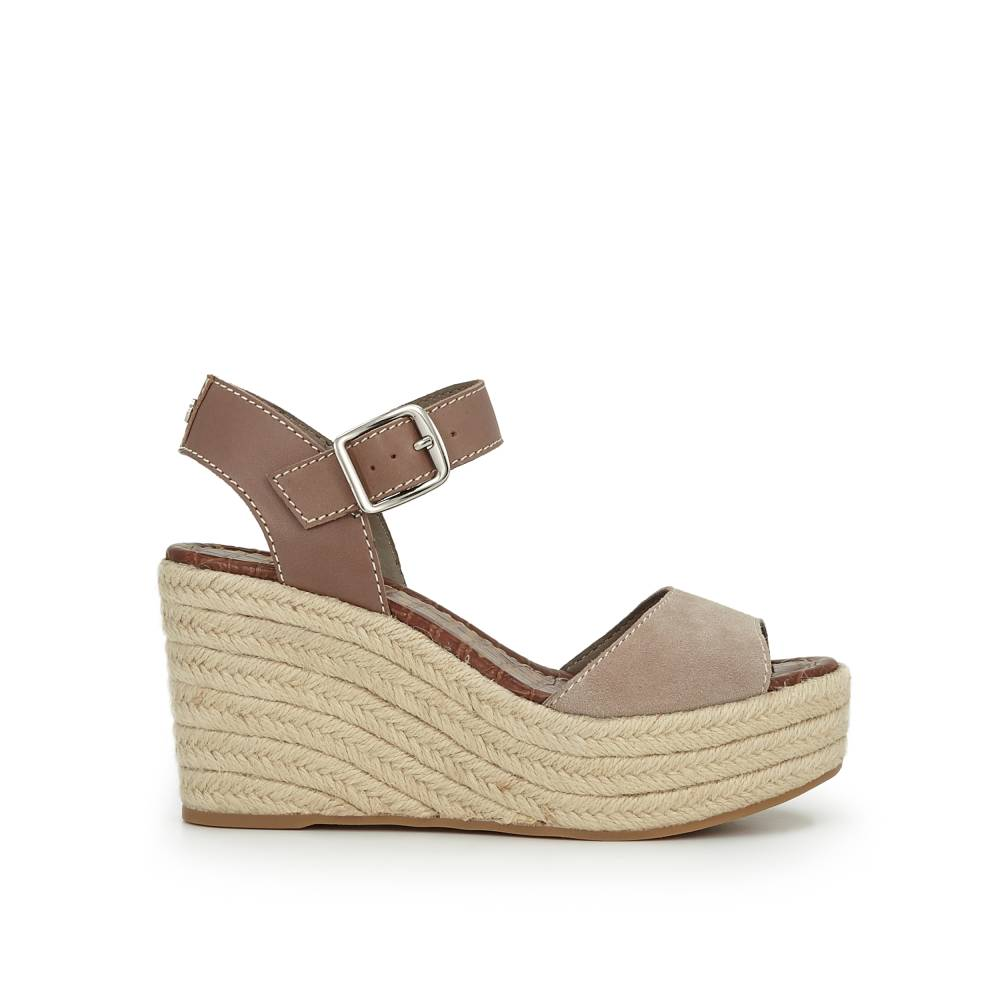 Dimitree Wedge Espadrille by Sam Edelman - Putty Suede