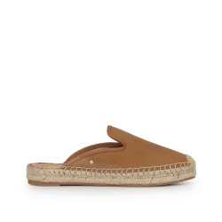 Kerry Espadrille Slide by Sam Edelman - Camel Leather