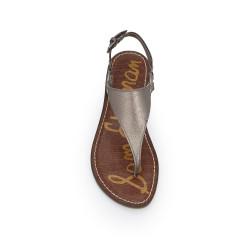 e709f41bad17 Greta Thong Sandal by Sam Edelman - Pewter Leather