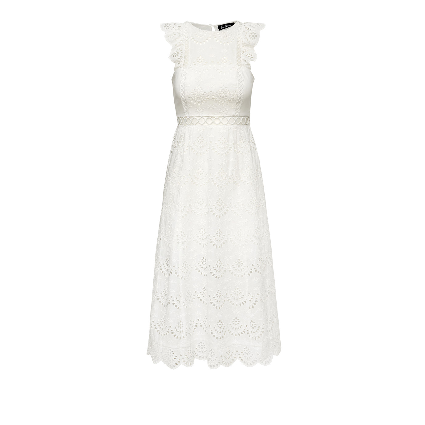 Eyelet Midi Dress - Dresses | SamEdelman.com