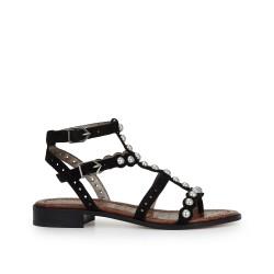173bba4804b67f Elisa Studded Gladiator Sandal by Sam Edelman - Black Suede