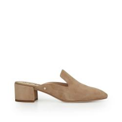 11aa6a9f825 Adair Block Heel Mule by Sam Edelman - Oatmeal Suede