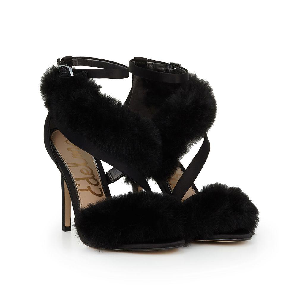 huge surprise sale online Adelle Faux Fur Heeled Sandal get authentic for sale JOhy5Dv