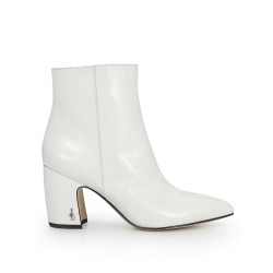 adb3769c89fa94 Hilty Ankle Bootie by Sam Edelman - White Crinkle Patent